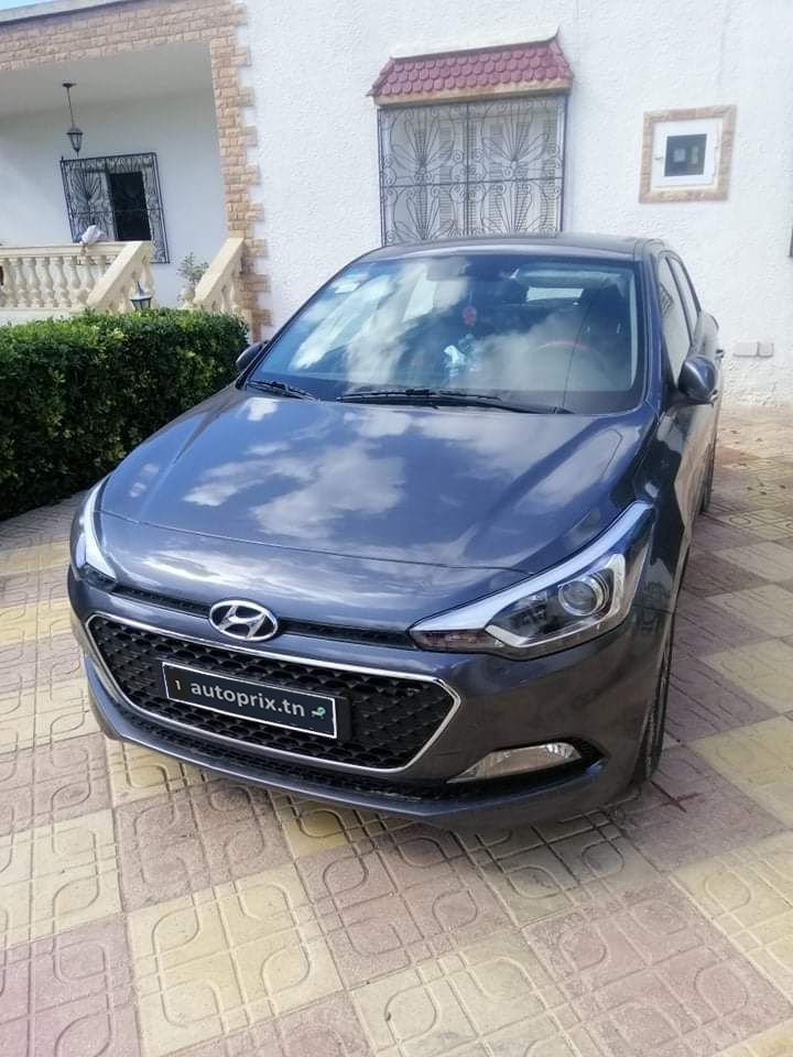 Carte voiture Hyundai i20